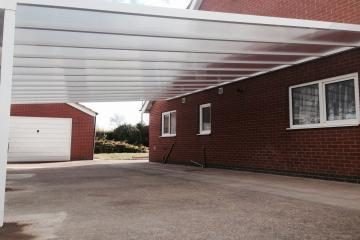 Olympiad S35 6m Wide Carport