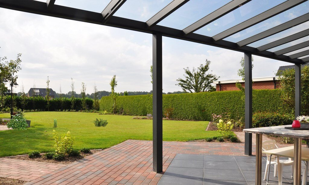 Cachet Anthracite Glass Veranda