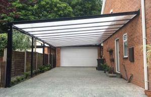 Olympiad S35 Black Carport