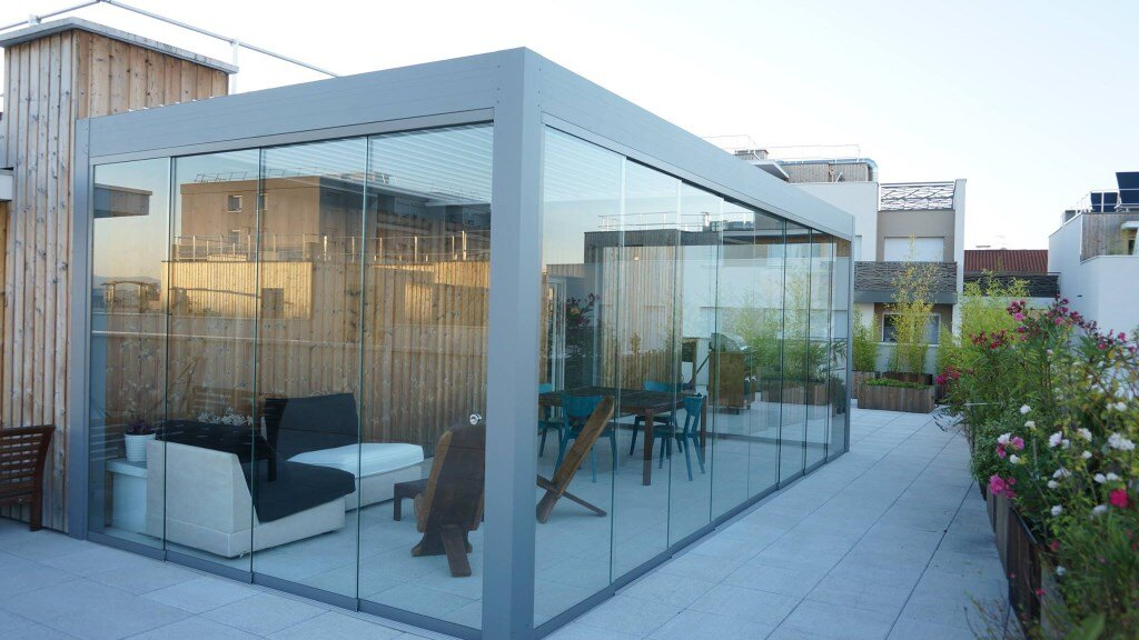 Bioclimatic Pergola Glass Room