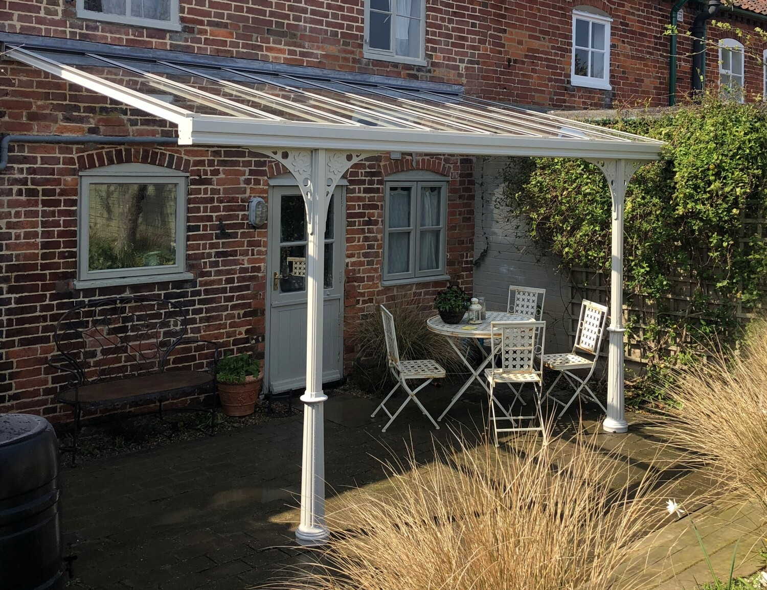 Victorian Style Veranda with Inset Posts